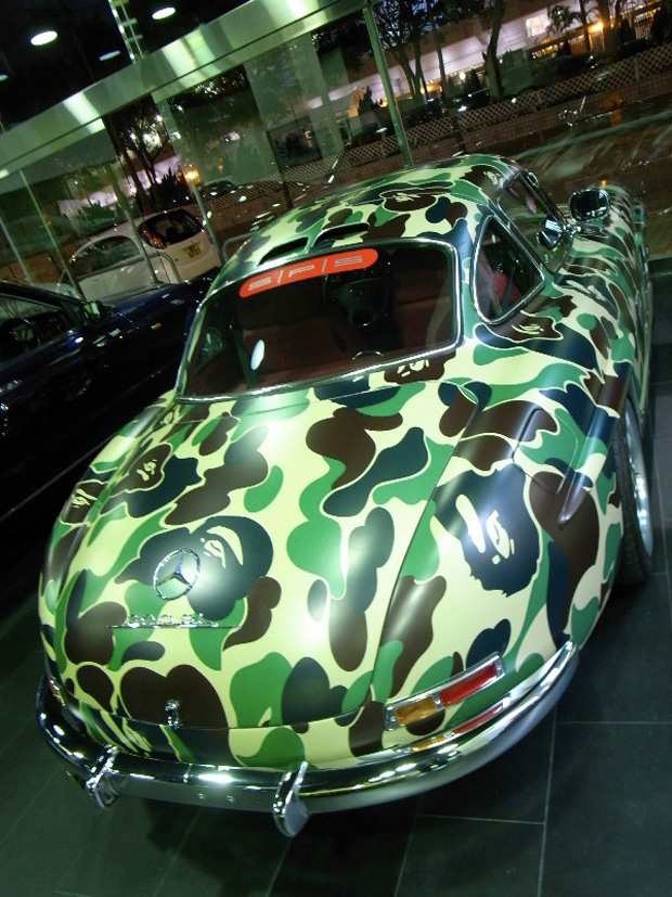 Mercedes Benz Portland >> Why?...BAPE'S NIGO butchers some EXPENSIVE CARS! (599 ...