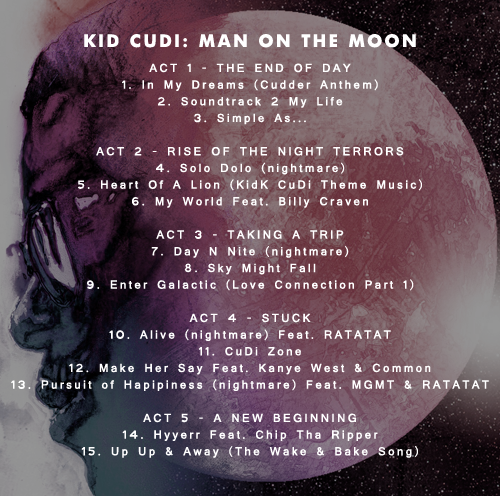 Kid Cudi Man On The Moon End Of Day