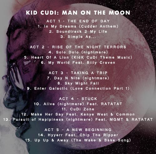 Kid Cudi Man On The Moon  Album Download Zip